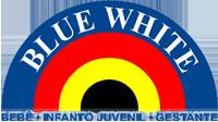Blue White Modas